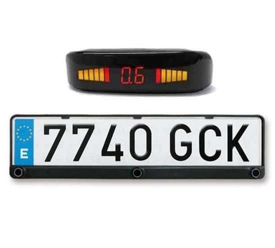 Σύστημα Παρκαρίσματος Αυτοκινήτου OEM PSD.PLATE., Πλαίσιο Πινακίδας Με Ενσωματωμένους 3 Αισθητήρες Υπερήχων | DBM Electronics