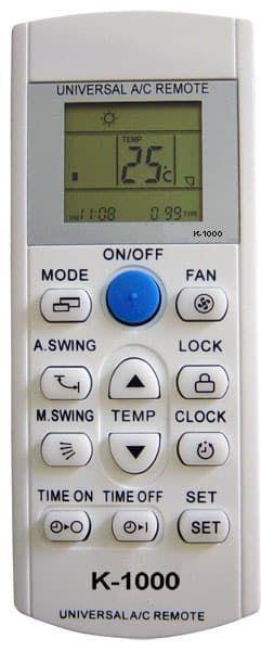 K-1000 Πολύ-τηλεχειριστήριο Κλιματιστικών - air condition | DBM Electronics