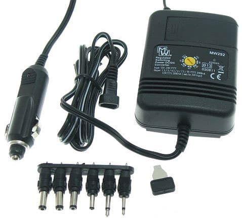 MW292 Μετατροπέας Τάσης Για Την Πρίζα του Αυτοκινήτου Με Ρυθμιζόμενη Τάση Εξόδου & Μέγιστη Ισχύ 2Α | DBM Electronics