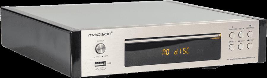 Madison MAD-CD10 CD Player Με Ενσωματωμένο Ραδιόφωνο FM Και Είσοδο USB | DBM Electronics