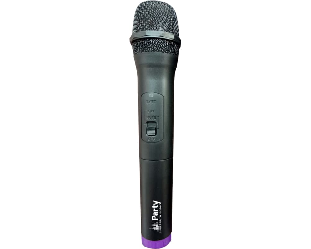 Party Light & Sound PARTY-200UHF Σετ 2 Ασύρματων Μικροφώνων Χειρός UHF | DBM Electronics