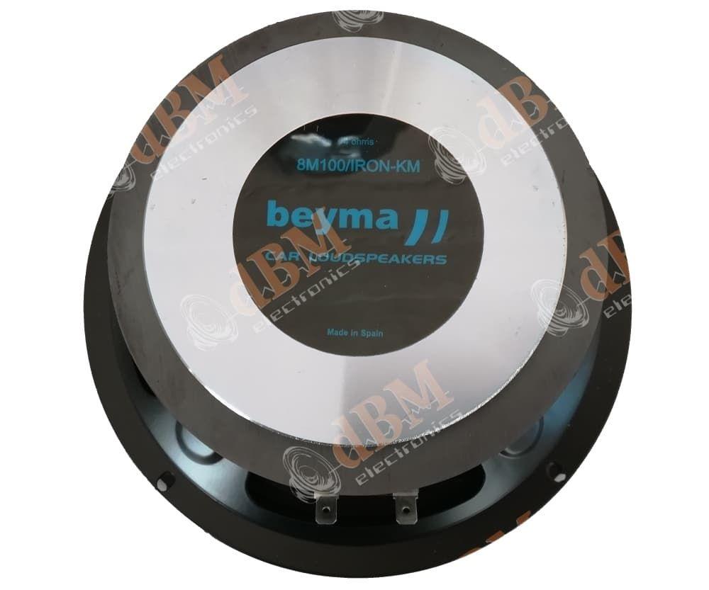 Beyma 8M100/IRON Ηχείο MidRange (8''-20cm) Ισχύος 100WRMS/4Ω (Τεμάχιο) | DBM Electronics