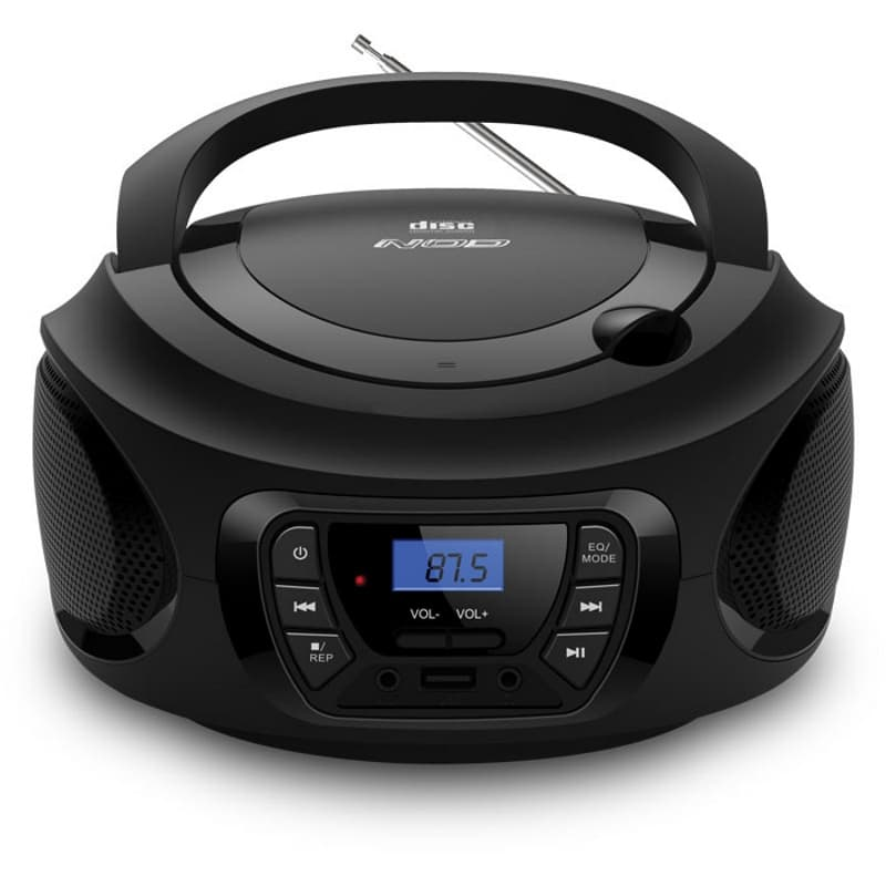 NOD INTRO Φορητό Ραδιόφωνο Με CD / USB / MP3 / AUX Και Οθόνη LCD | DBM Electronics