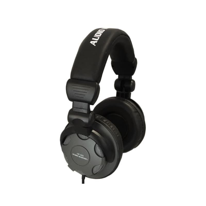 Audio Master HP-500 Επαγγελματικά Ενσύρματα Ακουστικά Για DJ, Studio & Live Εφαρμογές | DBM Electronics