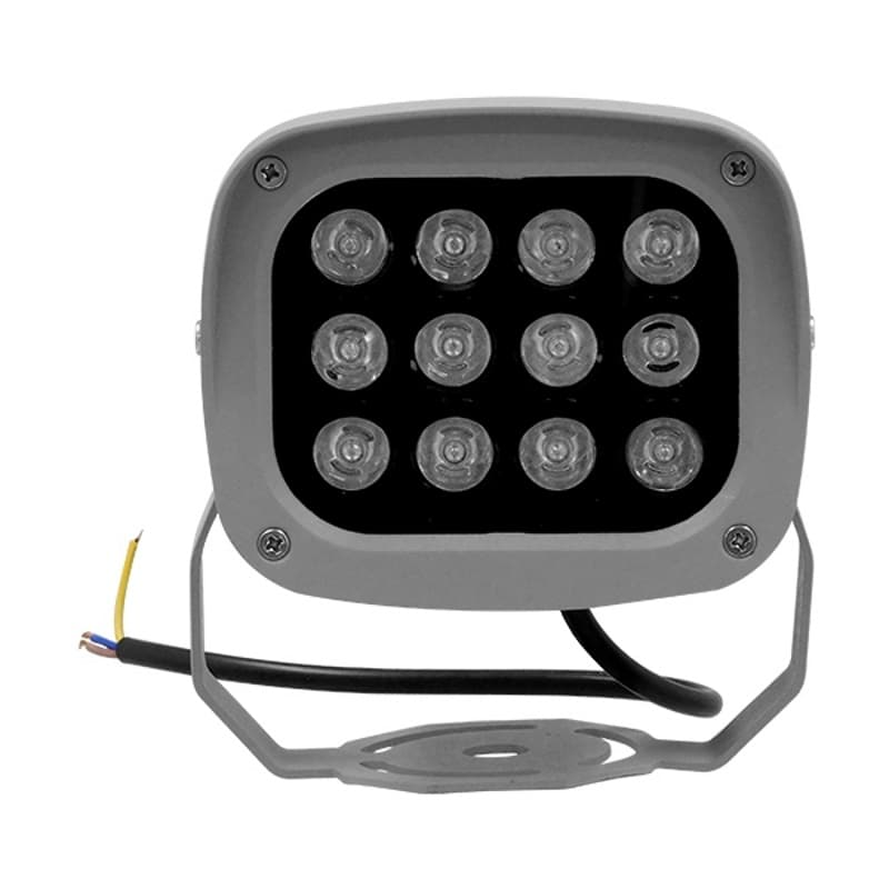 GloboStar 05020 LED Προβολέας Αρχιτεκτονικού Φωτισμού Με Ισχύς 12W Σε Χρώμα Φούξια & Αδιάβροχος | DBM Electronics