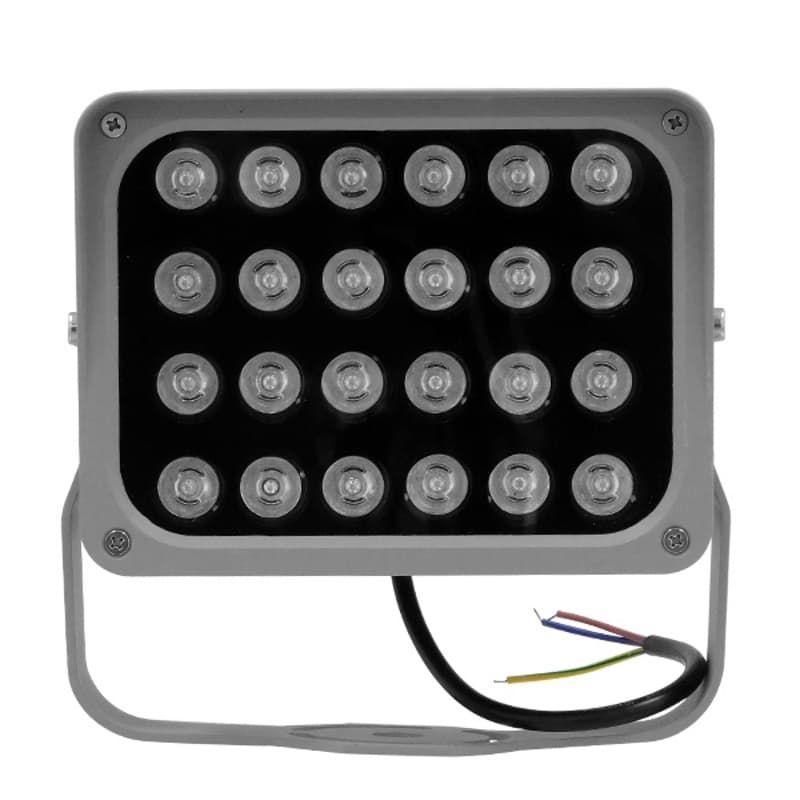 GloboStar 05027 LED Προβολέας Αρχιτεκτονικού Φωτισμού Με Ισχύς 24W Σε Φούξια Χρώμα & Αδιάβροχος | DBM Electronics