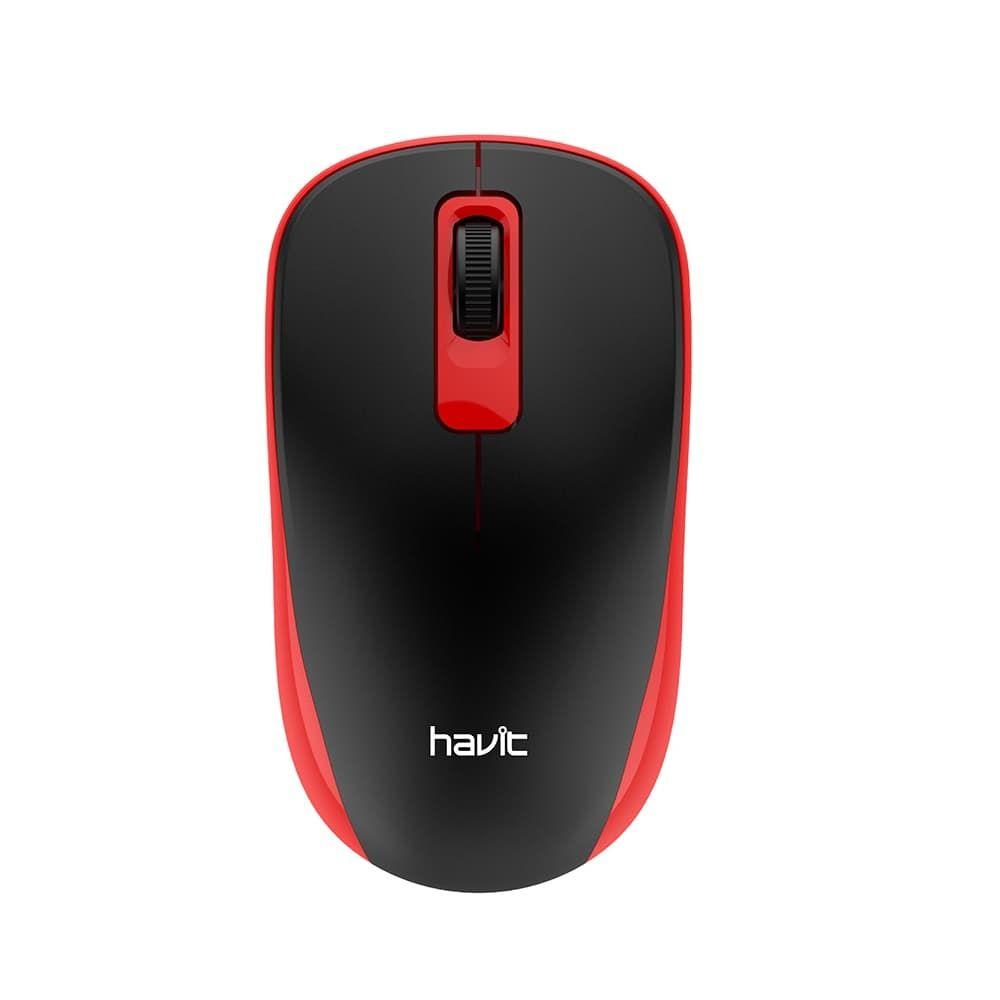 HAVIT MS626GT-RED Ασύρματο Ποντίκι Με Ανάλυση 1200DPI Σε Κόκκινο Χρώμα | DBM Electronics