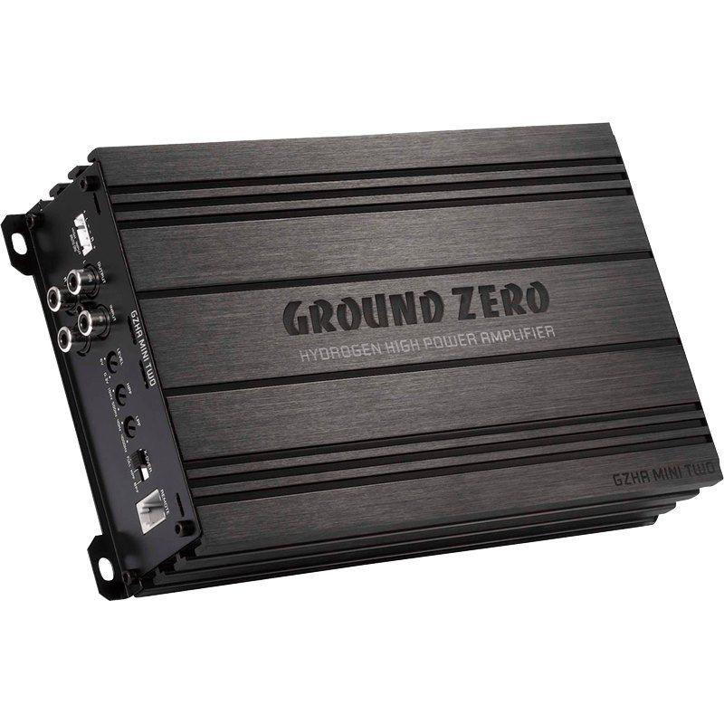 Ground Zero GZHA MINI TWO Δικάναλος Ενισχυτής Αυτοκινήτου Ισχύος 2x 230Watt RMS Στα 2Ohm | DBM Electronics