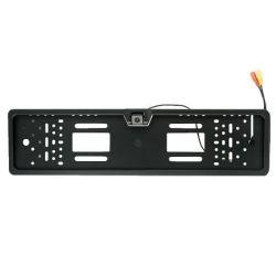 Πλαίσιο Πινακίδας Με Ενσωματωμένη Αδιάβροχη Κάμερα Οπισθοπορείας RC PLATE, Με Σύστημα PAL, Ανάλυση 420TVL, Γωνία 170° & Κλίση Κάμερας 45° | DBM Electronics