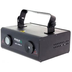 Ibiza Light LAS210RG-G Mini Φωτιστικό Laser Με 2 Διόδους (Κόκκινο & Πράσινο) | DBM Electronics