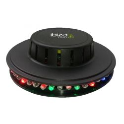 Ibiza Light LED UFO-BL Μίνι Φωτορυθμικό Με 48 RGB LED | DBM Electronics