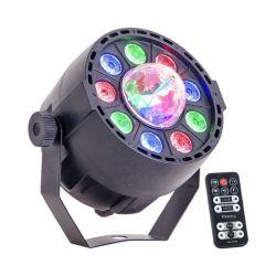 Ibiza Light PAR-ASTRO 2 Σε 1 Φωτορυθμικό LED Par Και LED Astro Για Πολύχρωμα Εφέ | DBM Electronics