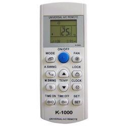 K-1000 Πολύ τηλεχειριστήριο Κλιματιστικών - air condition | DBM Electronics