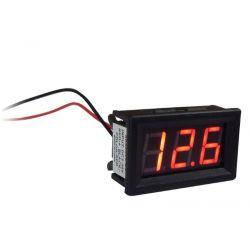 OEM SK48X29 Ψηφιακό Βολτόμετρο Με Κόκκινο Φωτισμό 4-30VDC | DBM Electronics