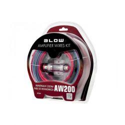 Blow AW200 Ολοκληρωμένο Σετ Καλωδίωσης Ενισχυτή Αυτοκινήτου 30A | DBM Electronics