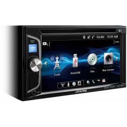 "Alpine IVE-W560BT 2DIN Οθόνη Multimedia 6.2"" WVGA Με CD/DVD/USB & Bluetooth | DBM Electronics"