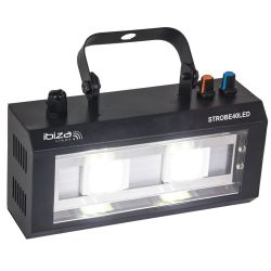 Ibiza Light STROBE40LED Φωτιστικό Strobe Με 2 LED 20Watt | DBM Electronics