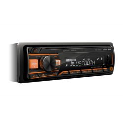 Alpine UTE-200BT Ράδιο USB/AUX Με Bluetooth Και Μεταβλητό Φωτισμό RGB | DBM Electronics