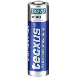 LR27A Tecxus Maximum Αλκαλική Μπαταρία, Blister 1 Τεμαχίου | DBM Electronics