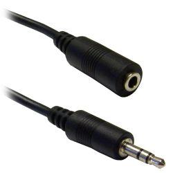 30176 Καλώδιο Προέκτασης Ήχου Jack 3.5mm (Αρσενικό / Θηλυκό) Μήκος 3m. | DBM Electronics