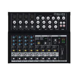 Mackie Mix12FX Μικροφωνική Κονσόλα 12 Καναλιών Με Εφέ 12 Προγραμμάτων   DBM Electronics
