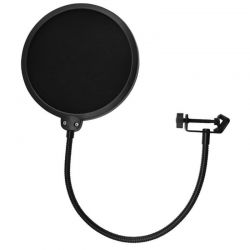 OEM SP-340 Pop Filter Με Εύκαμπτο Βραχίονα Ιδανικό Για Ηχογραφήσεις | DBM Electronics