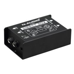 N-AUDIO DI-1 Παθητικό Di Box Με Jack 6.3mm Είσοδο Και Έξοδο | DBM Electronics