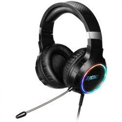 NOD DEPLOY USB Gaming Headset Με RGB LED Φωτισμό, Δόνηση Και Χειριστήριο | DBM Electronics
