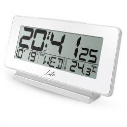 Life ACL-200 Ψηφιακό ρολόι / Ξυπνητήρι Με Θερμόμετρο Εσωτερικού Χώρου, Ημερομηνία Και Οθόνη LCD. | DBM Electronics