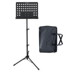 Audio Master BS10 Ρυθμιζόμενο Μεταλλικό Αναλόγιο Μουσικών Και Τσάντα Μεταφοράς | DBM Electronics