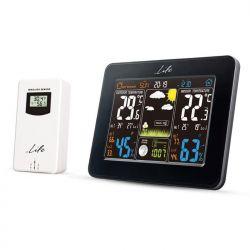 "LIFE Rainforest WES-300 Μετεωρολογικός Σταθμός Με Ασύρματο Εξωτερικό Αισθητήρα, Οθόνη LCD 5.7"" Ρολόι / Ξυπνητήρι | DBM Electronics"