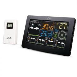"LIFE WES-401 Wi-Fi Μετεωρολογικός Σταθμός Με Ασύρματο Εξωτερικό Αισθητήρα, Έγχρωμη Οθόνη 7.3"" Και Ρολόι / Ξυπνητήρι | DBM Electronics"
