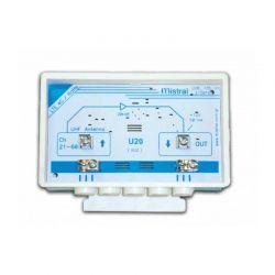 Mistral VU2 U20 Ενισχυτής Κεραίας Ιστού Με Δυνατότητα Ενίσχυσης έως 20dB | DBM Electronics