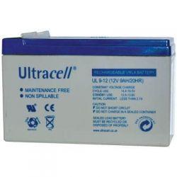 UL 9-12 Ultracell Επαναφορτιζόμενη Μπαταρία Μολύβδου 12V 9Ah | DBM Electronics