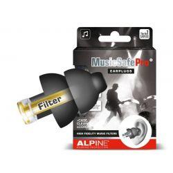 Alpine MusicSafe Pro Black Νεο Μοντέλο Ωτοασπίδες Για Μουσική, Μαύρες | DBM Electronics