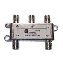 DigiView DV01-04 Διακλαδωτής Επίγειων/Δορυφορικών Καναλιών Από 1 Σε 4 | DBM Electronics
