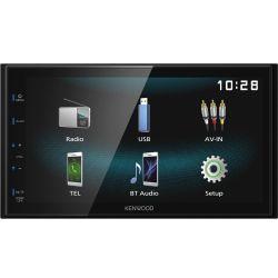 "Kenwood DMX120BT Οθόνη Multimedia 2 DIN 6.8"" Με USB & Bluetooth | DBM Electronics"