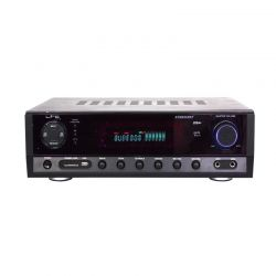 LTC ATM6500BT Στερεοφωνικός Ραδιοενισχυτής 2x50Watt Με Εισόδους Line / USB / Bluetooth Και 2 Εισόδους Για Μικρόφωνα | DBM Electronics