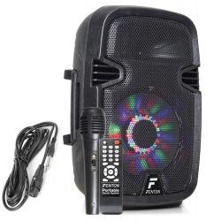 FENTON FT8LED Φορητό Ηχείο Με Μικρόφωνο Ισχύος 150W Max, Με MP3/ USB/ SD/ Bluetooth | DBM Electronics