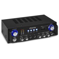 FENTON AV100BT Stereo Hi-Fi Ενισχυτής Με USB/ SD/ Bluetooth/ Karaoke | DBM Electronics