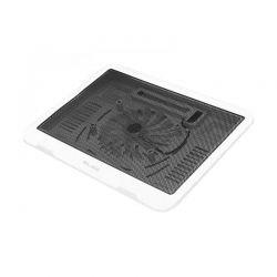 Blow 66-363 Βάση Με Ανεμιστήρα Για Laptop 33x25cm Σε Λευκό Χρώμα | DBM Electronics