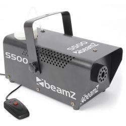 BEAMZ S500 Μηχανή Καπνού Ισχύος 500 Watt Με Ενσύρματο Χειριστήριο & Υγρό | DBM Electronics