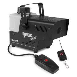 BEAMZ RAGE 600 Μηχανή Καπνού Ισχύος 600 Watt Με Ενσύρματο Kαι Ασύρματο Χειριστήριο | DBM Electronics