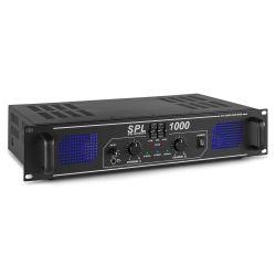 SKYTEC SPL-1000 EQ Ημιεπαγγελματικός Τελικός Ενισχυτής 2x350 Watt MAX / 8 Ohm Με Ισοσταθμιστή | DBM Electronics