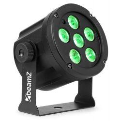 BEAMZ SlimPar 30 Φωτιστικό 6 Λαμπτήρων RGB LED Ισχύος 3W Με Τηλεχειριστήριο | DBM Electronics