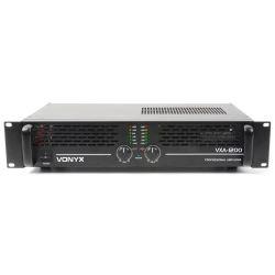 VONYX VXA-1200 II Τελικός Επαγγελματικός Ενισχυτής Ισχύος 2x 400 Watt / 8 Ohm & Με Γέφυρα 1200 Watt | DBM Electronics