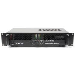 VONYX VXA -1500 Τελικός Επαγγελματικός Ενισχυτής Ισχύος 2x 450 Watt / 8 Ohm | DBM Electronics