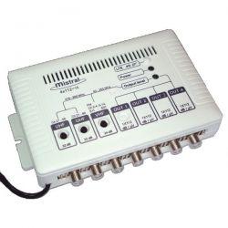 Mistral 4x112 Ενισχυτής Κεντρικής Κεραίας 4 Εξόδων Με Φίλτρο LTE 4G | DBM Electronics