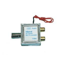 0267 Mistral MOD - MINI διαμορφωτής tv για κεντρική κεραία | DBM Electronics