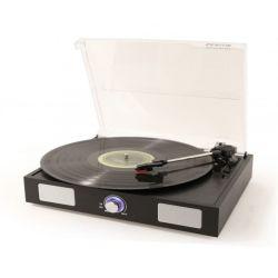 FENTON RP108B Πικάπ Με Ενσωματωμένα Ηχεία Και USB Recording Σε Μαύρο Χρώμα | DBM Electronics